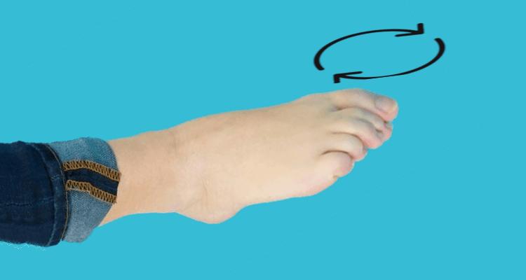 Okrężne ruchy palcami