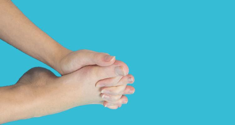 Rozciąganie dużych palców